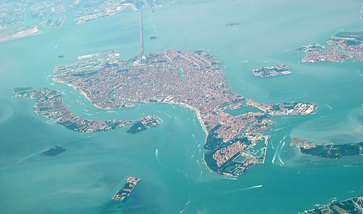 Venice Lagoon declared most endangered heritage site in Europe