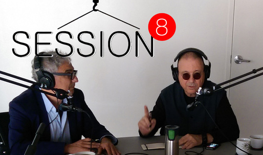 "Michael Rotondi in-studio for Episode 8 of Archinect Sessions, ""A Sense of Place"""