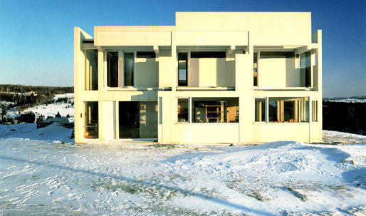 Eisenman's iconic 'House II' is now on the market for $850K