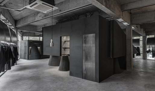 2016 World Interior of the Year goes to Black Cant System store by Hangzhou AN Interior Design