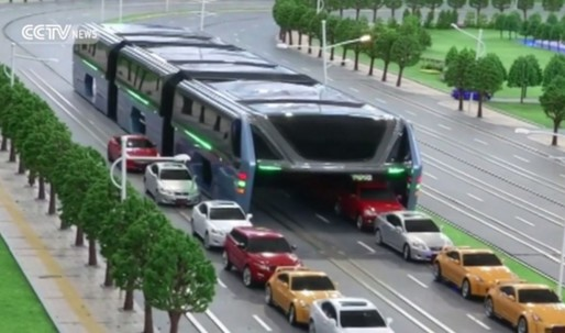 China's transit-elevated bus is officially discontinued