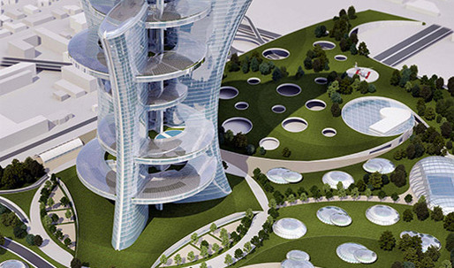 A futuristic vision for Venice