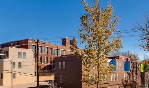 "Brad Pitt's ""Make It Right"" opens LEED-platinum housing complex in Kansas City"