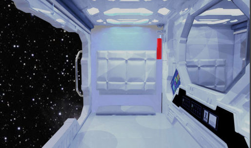 """In Hong Kong, a housing shortage is leading people to live in 25 sq. ft. """"space capsule pods"""""""
