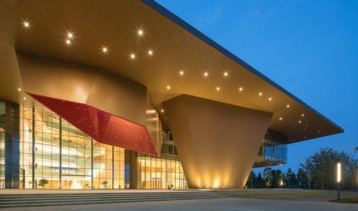 "The ""tectonic bravery"" of NBBJ's Nanjing Eco-Tech Exhibition Centre"