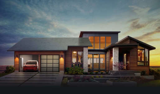 Say goodbye to clunky solar panels, and hello to Tesla's sleek new glass solar roof tiles