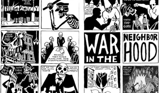 NYC's squatters get their own graphic novel/historic documentation