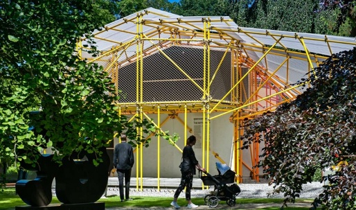 SelgasCano design pavilion for Africa in Denmark