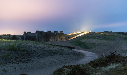 """Dig into more photos of BIG's """"invisible"""" Tirpitz Museum"""