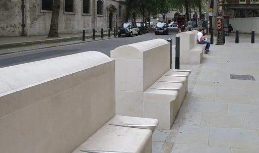 "Amid London's austerity measures, ""defensive design"" becomes even more hostile"