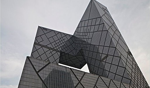 Koolhaas's CCTV Building Fits Beijing as City of the Future