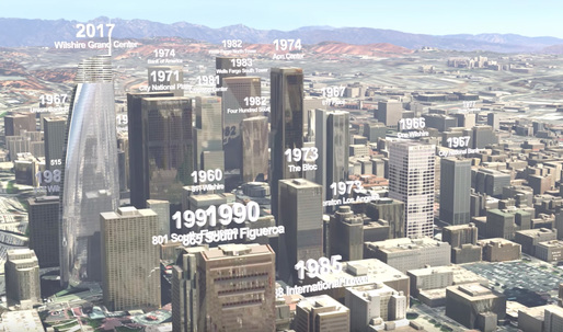 Watch a century of downtown L.A.'s development in 2 minutes of 3D animated renderings