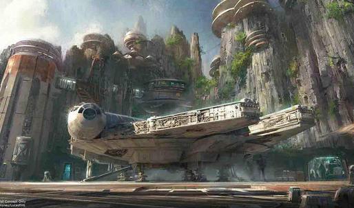 Relatively soon, in a galaxy (not so) far far away: announcing Star Wars Lands