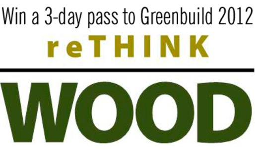 We're giving away a 3-day pass to Greenbuild! Winner will be selected later today.