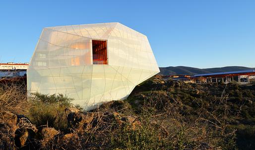 SelgasCano's Magical Rock-Like Auditorium Opens in Spain