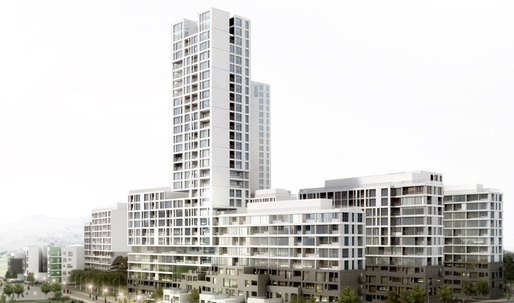H Architecture's winning proposal for the Sejong Public Housing Development