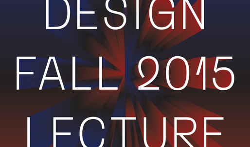 Get Lectured: PennDesign, Fall '15