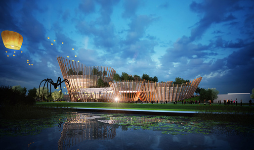 Taichung City Cultural Center Entry by Maxthreads
