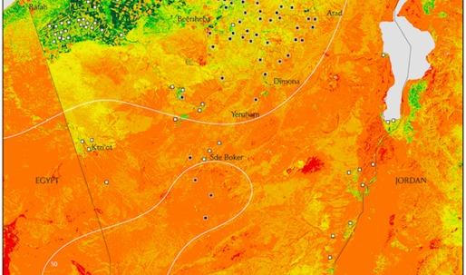 Along the political equator of the desert threshold