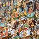 The stucco deities of the gopura