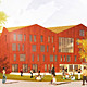 Visualization of the proposed new academic building (Image Image: Mecanoo architecten)