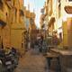 The interior streets of Jaisalmer Fort