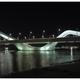Zaha Hadid's bridge in Abu Dhabi