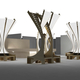 NSAD students have created 40 modular benches for SAN DIEGO Contemporary Fair 2013. Rendering credit: Numisius Colony of Alpha Rho Chi/NSAD