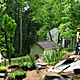 Extensive native planting effort by Master's of Landscape Architecture students