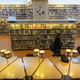 The Regional Library of Lapland. Bronwyn Charlton & Cordelia Kotin in sunken reading room.