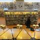 The Regional Library of Lapland. Bronwyn Charlton & Cordelia Kotin in sunken reading room.