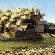 Detail from the competition-winning proposal 'Woolopolis' by Hannes Frykholm and Henry Stephens (Sweden/New Zealand)
