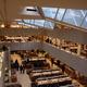 Skylight at Alvar Aalto designed book store, Akateeminen Kirjakauppa