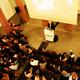 Sir Peter Cook lecture photo by Ayax Abreu